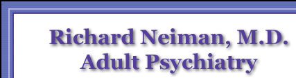 Richard Neiman, M.D. - Adult Psychiatry - Psychotherapy, Counseling, Medical Management & Photo of Panoramic Mountain View